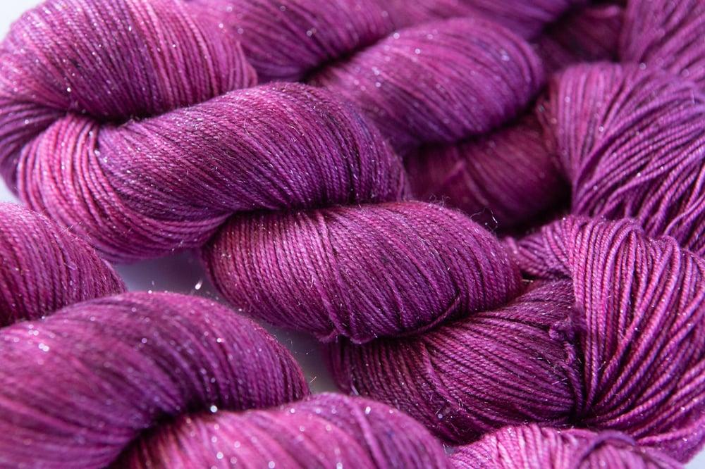 Image of Glitter Sock - Frambuesa