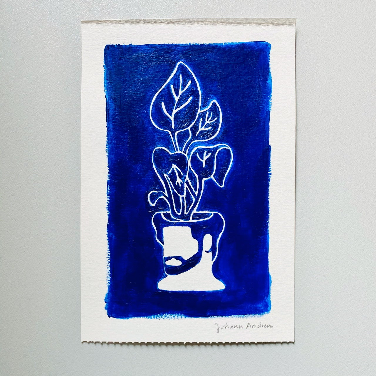 """""""Night Thoughts in Prussian Blue"""""""