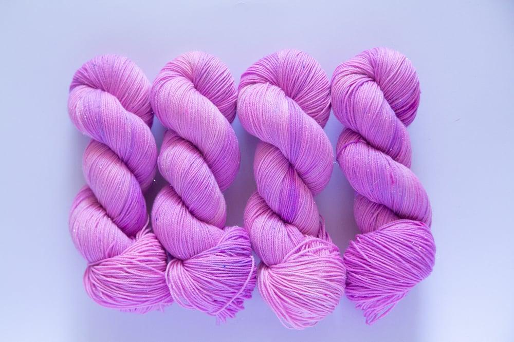 Image of Glitter Sock - Rapunzel