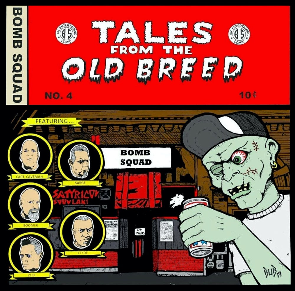 """Image of BOMB SQUAD-""""Tales From The Old Breed"""" VINYL"""