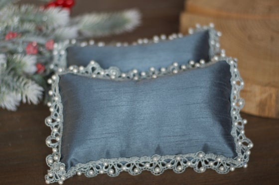Image of Couture pillow (blue)