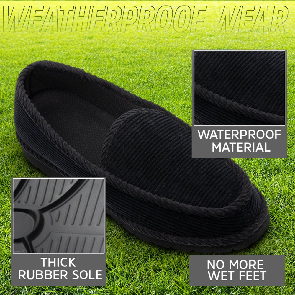Image of Homiegear Water Resistant Auto Tire Slippers