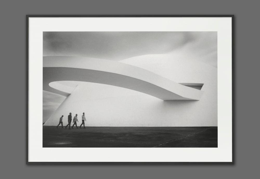 Image of BRASILIA - FRAMED FINE ART PRINT