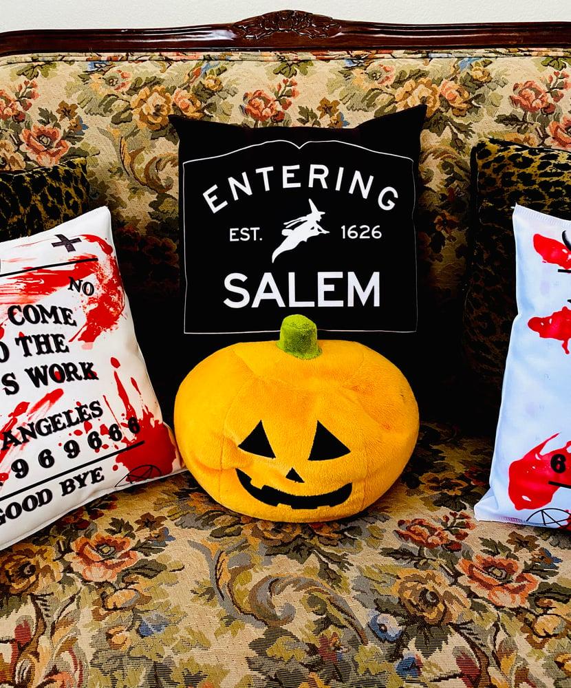 Image of Entering Salem Pillow