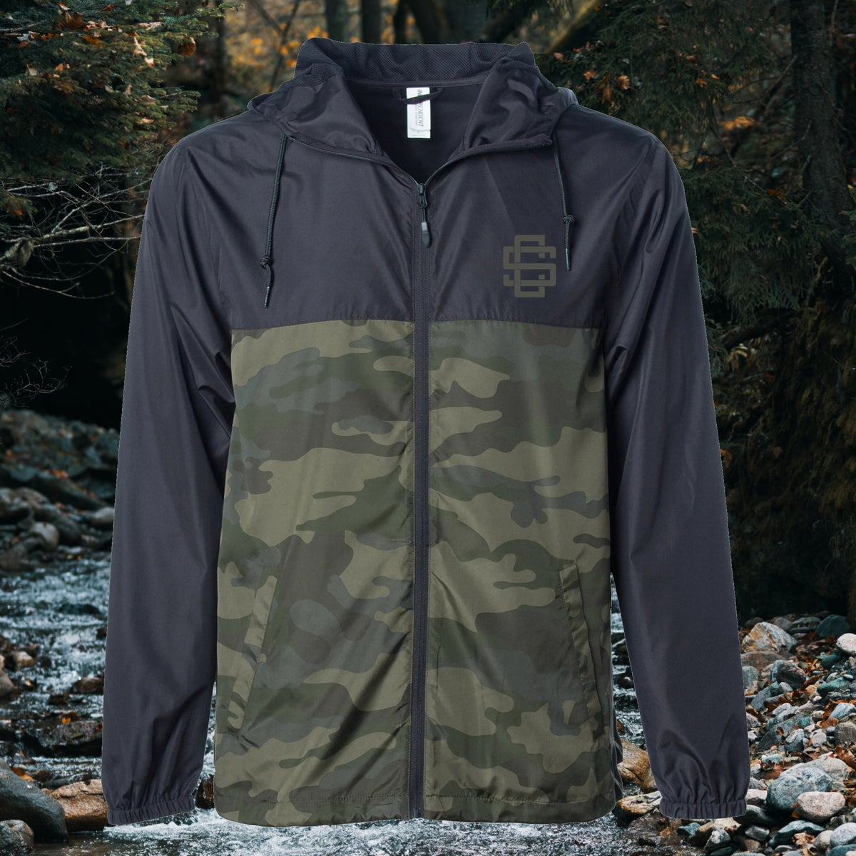 SC Monogram - Lightweight Windbreaker