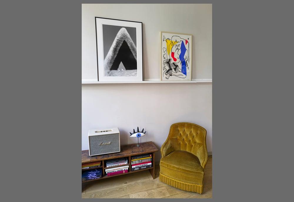 Image of CHIMNEYS - FRAMED FINE ART PRINT