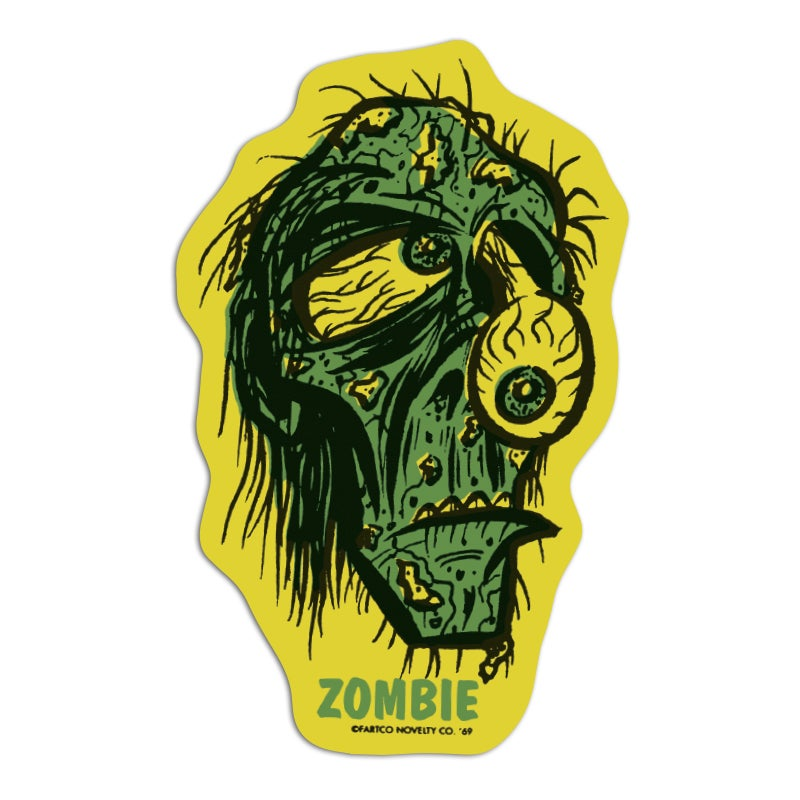 Image of Zombie Sticker
