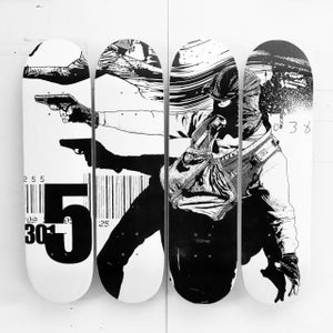 Image of WK - CUSTOM SKATEBOARD DECK