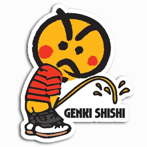 Image of Genki Shishi [Original] Sticker