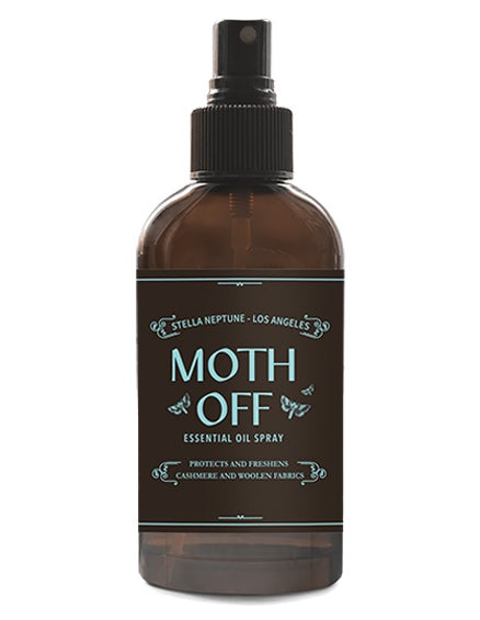 Image of SAVE YOUR SWEATERS!  MOTH OFF Essential Oil Spray - Shipping only $4