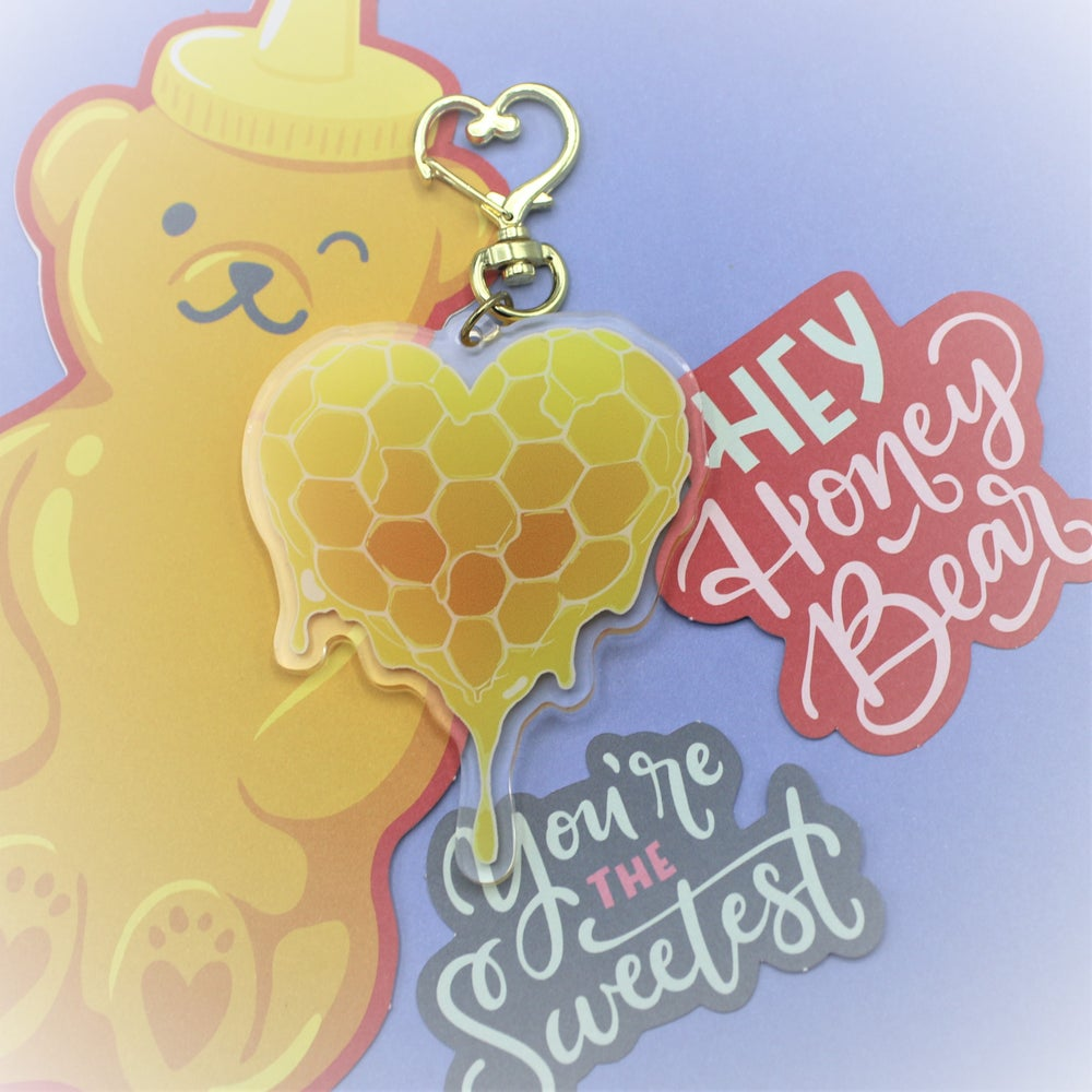 Image of Heart of Liquid Gold Charms