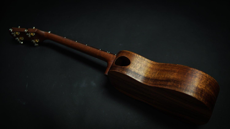 Image of Heritage Ukuleles Custom Koa Tenor Ukulele