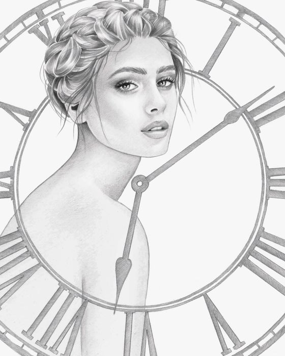 Image of TIME WAITS FOR NO ONE - GICLEE PRINT