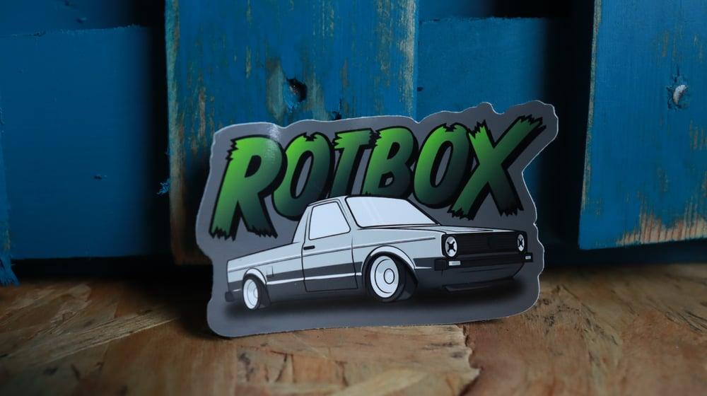 Rotbox Pickup Truck Sticker