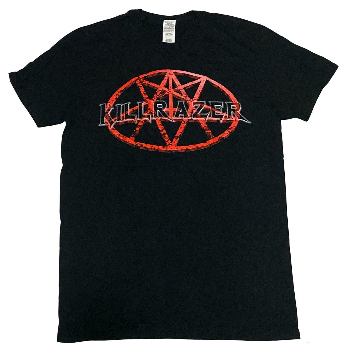 Image of KILLRAZER - Pentagram front / Song Titles back - Shirt
