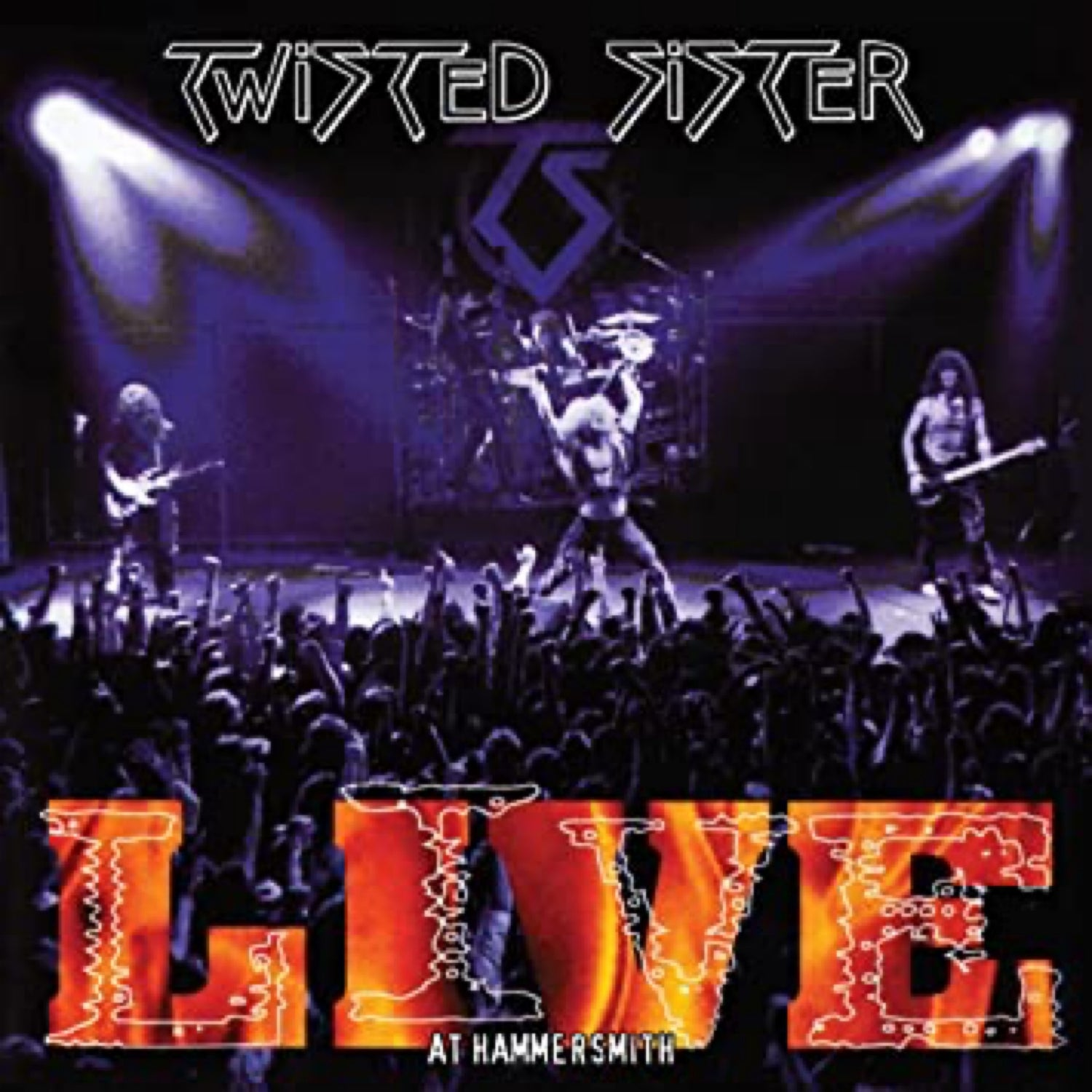 Image of TWISTED SISTER - Live At Hammersmith - DOUBLE CD