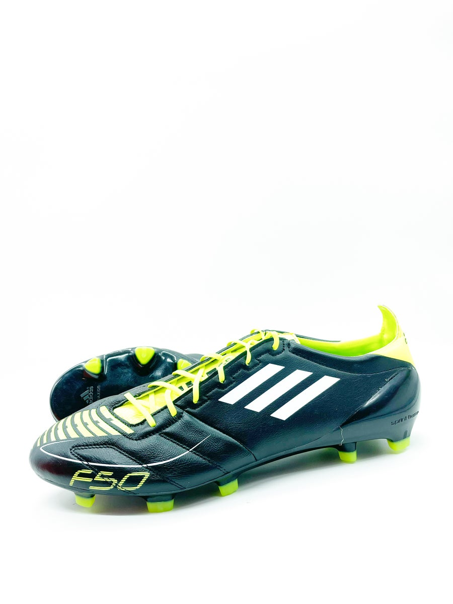 Image of Adidas Adizero F50 FG black leather