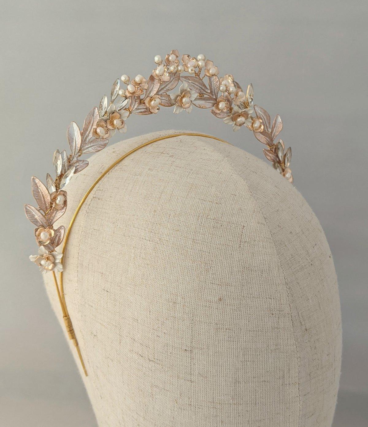 Wild Flowers petite halo headband