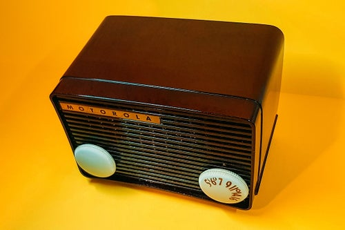 Image of MOTOROLA 55A (1954) SPEAKER VINTAGE BLUETOOTH