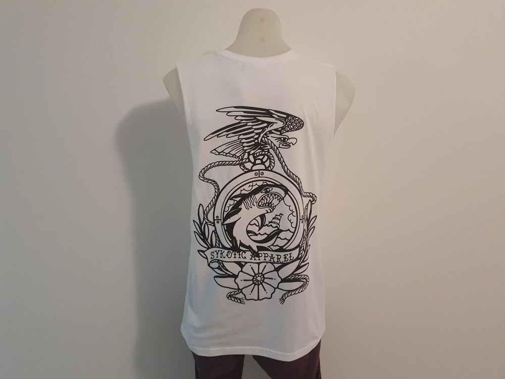Image of Determination Tank (White)