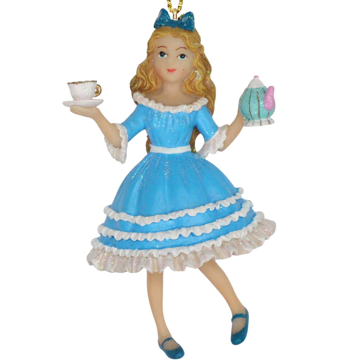 Image of Gisela Graham Alice in Wonderland Tree Decoration