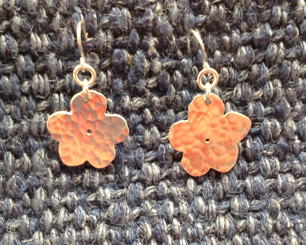 Image of Flower ear rings