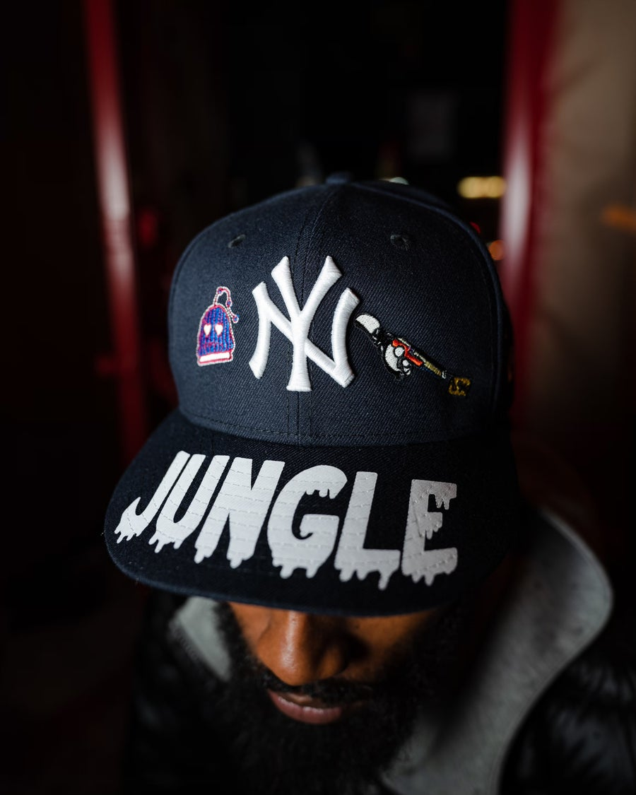 Image of JUNGLE YANKEES PINK BOTTOM + JJGRANT COLLAB
