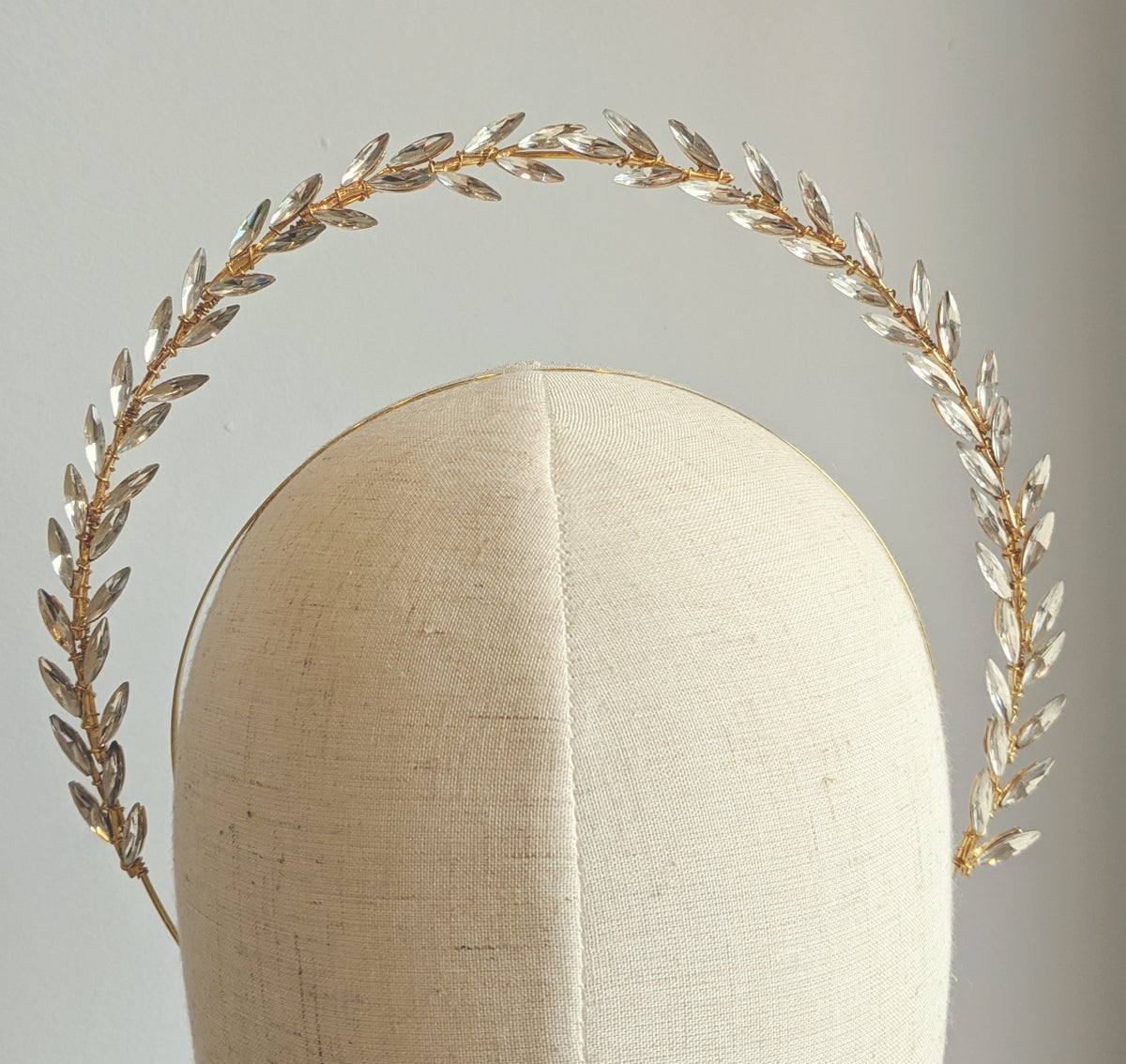 Laurel wreath halo headband