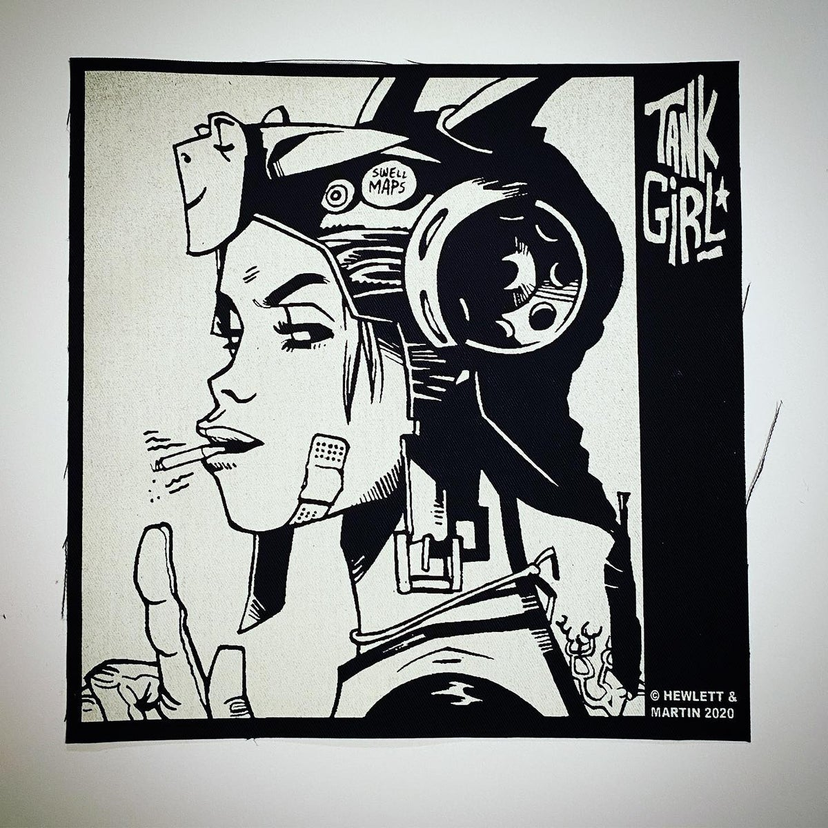 """Image of TANK GIRL POSTER MAGAZINE """"FREAK OUT"""" SPECIAL - WITH BACK PATCH - SECOND EDITION"""