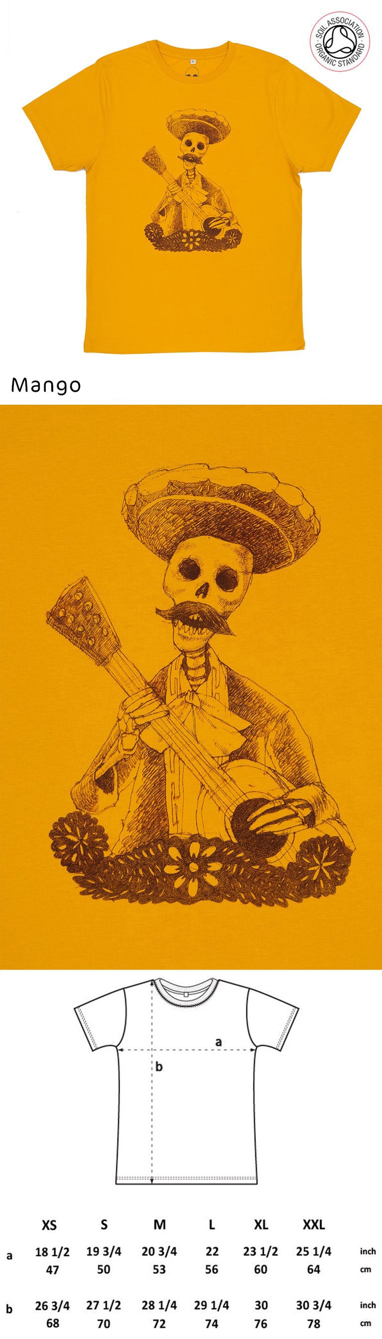 Day of the Dead Unisex T-shirt (Organic)