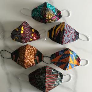 Image of Kitenge African Print Face Masks