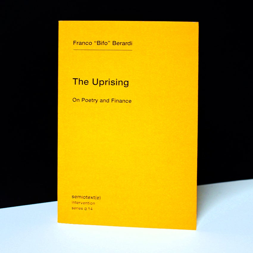 The Uprising : On Poetry and Finance
