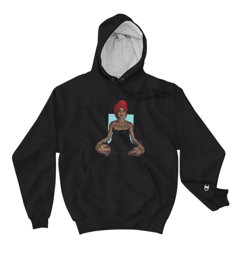 Image of Sade Sweetest Taboo Black Champion Hoodie