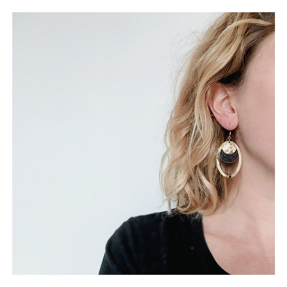 Boucles d'oreilles Tosca #1