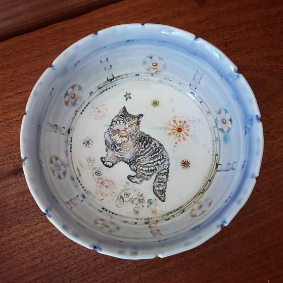 Image of Norwegian Kitty Porcelain Dish