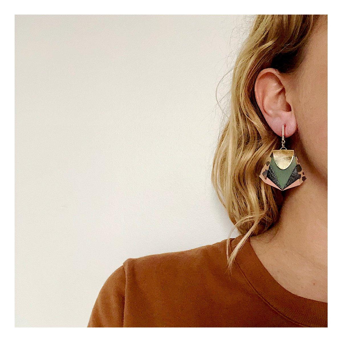 Boucles d'oreilles NOA #20