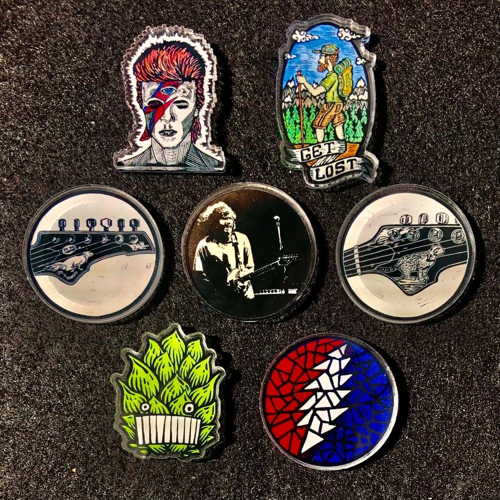 Image of Acrylic pins