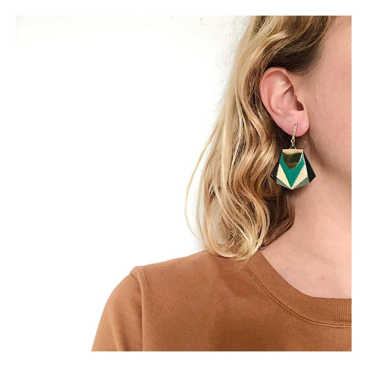 Boucles d'oreilles NOA #23