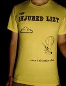 Image of The Injured List - ...Won't Be Taken Alive T-Shirt