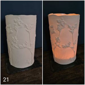 Porcelain Candle Covers 18-21