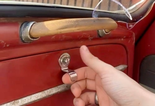 Image of Glove Box Door Pull