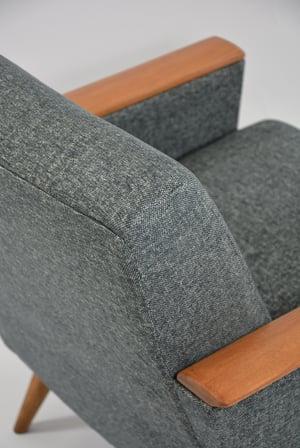 Image of Fauteuils CARRES gris chiné
