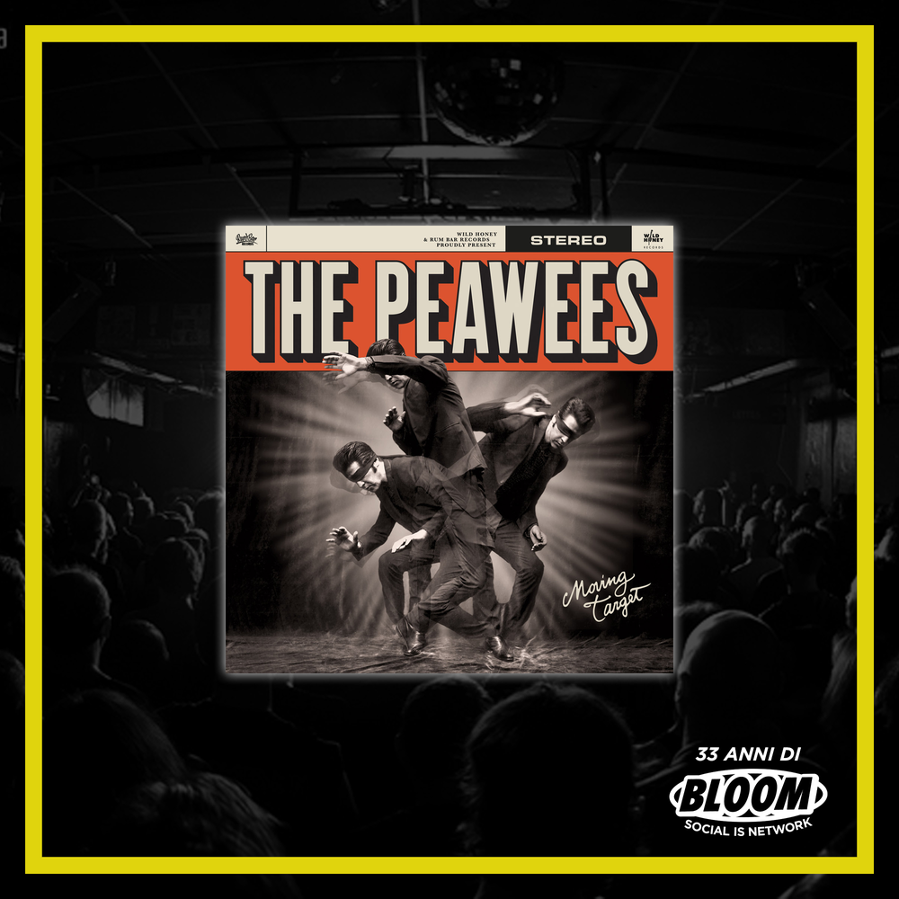 "The Peawees - ""Moving Target"" LP"