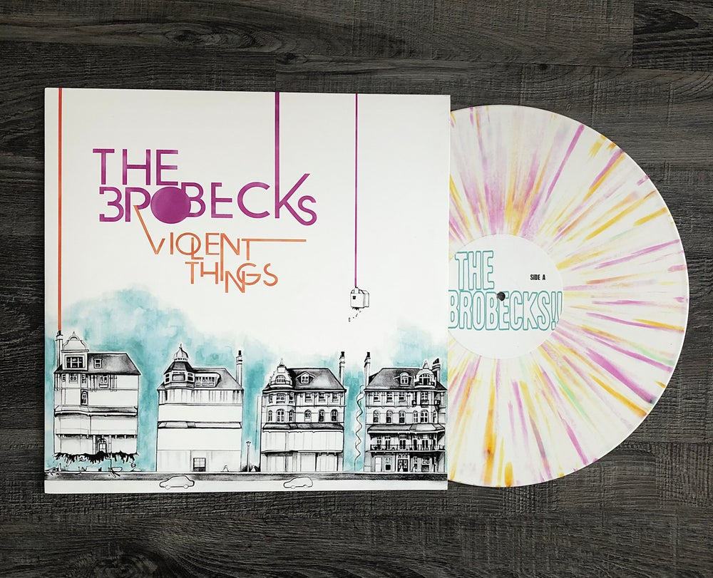 """Image of ***LIMITED EDITION*** THE BROBECKS """"Violent Things"""" 12 inch Vinyl and BONUS Boring  7"""""""