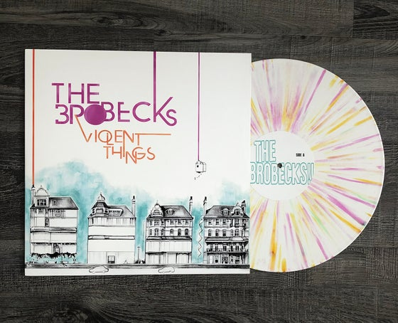 "Image of ***LIMITED EDITION*** THE BROBECKS ""Violent Things"" 12 inch Vinyl and BONUS Boring  7"""