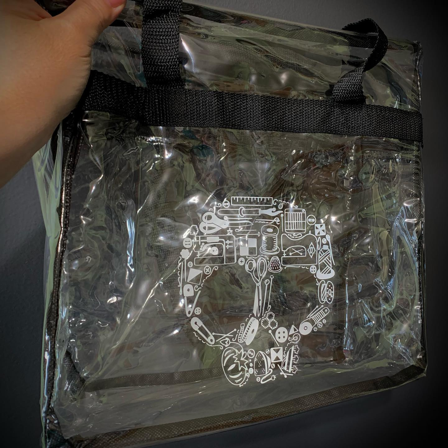 Tool Sewing Skull Project Bag