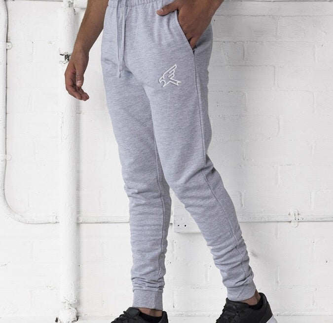 Image of Grey Skinny Jog Pants