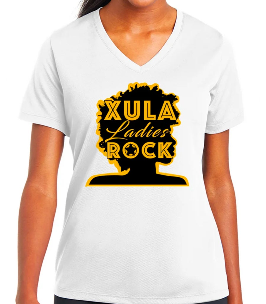 Image of XULA Ladies Rock (White)