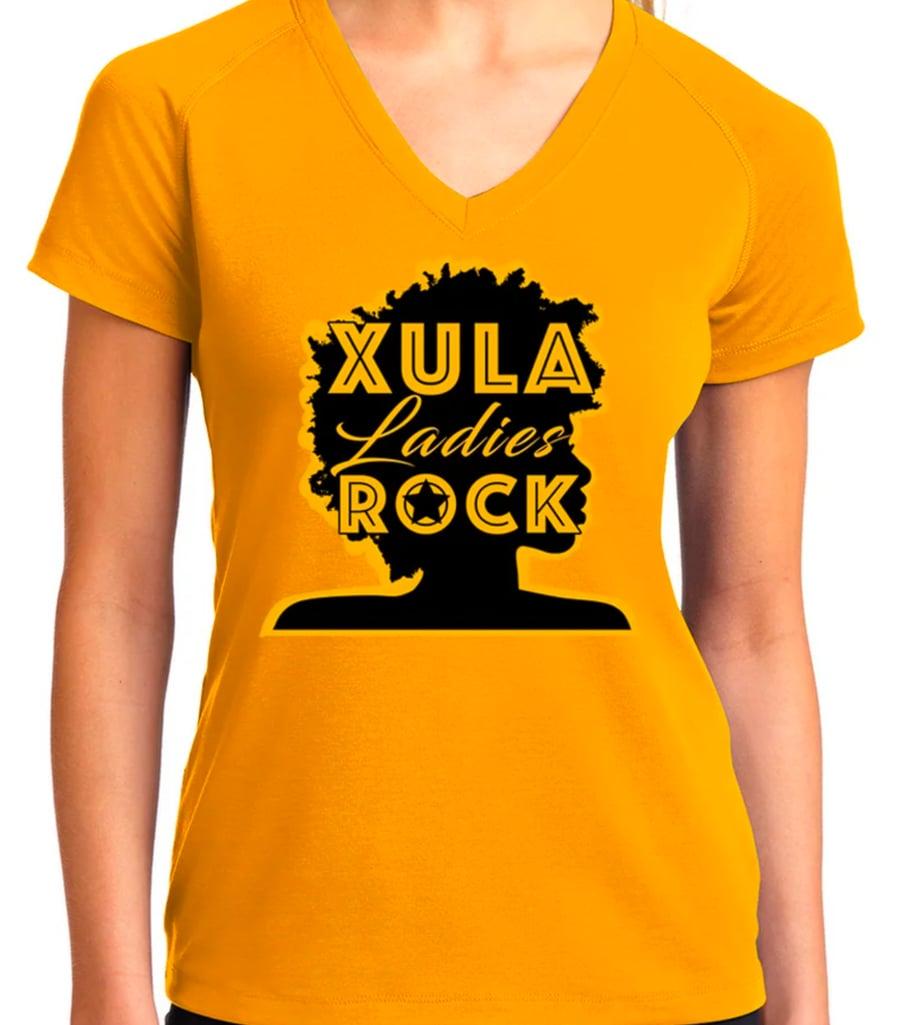 Image of XULA Ladies Rock (Gold)