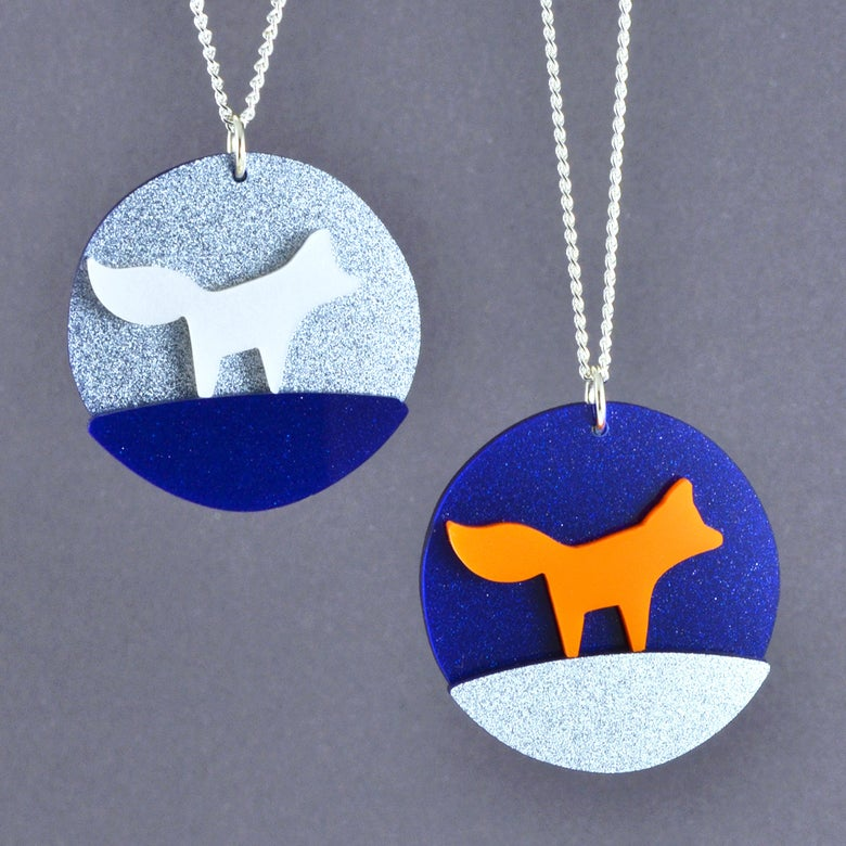 Image of Little Fox Necklace
